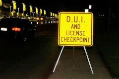 D.U.I. and License Checkpoint near Portland, Oregon