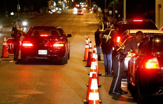 Checkpoint for DUI in Oregon